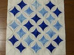 Katherine the Great » cathedral window quilt