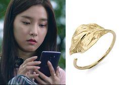 "Kim So-Eun 김소은 in ""Liar Game"" Episode 1. D.elfin Golden Leaves 14K Ring #Kdrama #LiarGame 라이어 게임 #KimSoEun"
