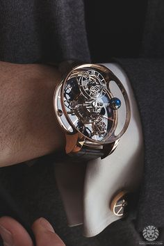 watchanish: Jacob & Co. Astronomia tourbillon Now on WatchAnish.com - The Newest Tourbillons from BaselWorld 2015.