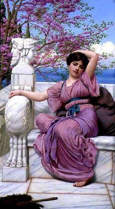 John William Godward - Lassitude
