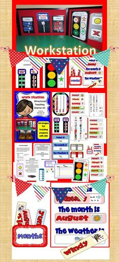 """Work Stations are great to focus your students and limit distraction. Structured Systems help children understand """"what"""" is expected, """"where"""" he needs to go """"how"""" many tasks he needs to complete before he has his reward. Teacch tasks are ideal for structured learning."""