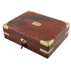 This late century mahogany box of antique drawing instruments are available to buy now online. Wood Box Design, Jewelry Box Plans, Old Glass Bottles, Travel Jewelry Box, Antique Boxes, Vintage Box, Wood Storage, Wood Boxes, Keepsake Boxes