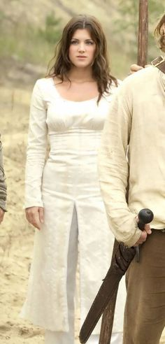 Lucy Griffiths as Maid Marian BBC's Robin Hood (I love how all her dresses are also pants!)