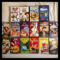 Found a box of VCR tapes. Much Nostalgia.