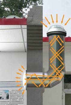 solar tube bend