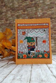 Stampin`Up! Herbstgrüße mit Elementstanze Lebkuchenmännchen