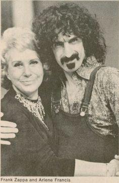 FRANK ZAPPA with Arlene Francis, 1971