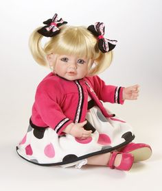 Miss Bella.  Adora dolls are just that adora-ble.  :)  My little girl can't get enough of this dolly.