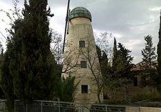 Windmill jerusalem tour and scavenger hunt
