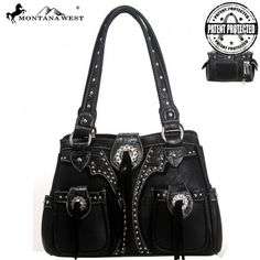 Montana West Western Concealed Handgun Collection Tassel Handbag – Handbag Addict.com