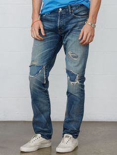 Straight-Fit Webster Jean - Denim & Supply  Straight - RalphLauren.com