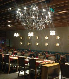 12 ocakbası restaurant bayraklı tower izmir Chandelier, Ceiling Lights, Lighting, Home Decor, Candelabra, Decoration Home, Room Decor, Chandeliers, Lights
