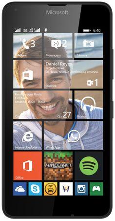 (Saraiva.com.br) Smartphone Microsoft Lumia 640Ds Preto Tela 5 ´ Win Phone Quadcore 1.2Ghz Câm. 8Mp Dualchip Dtv 8Gb - Cod: 8870291 - de R$…