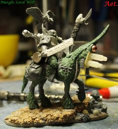 nurgle lord on bike - Cerca con Google