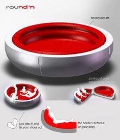 round°n sofa brings modularity in a circular structure