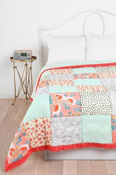 Plum & Bow Strawberry Dot Quilt #UrbanOutfitters #smallspace