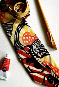 """Fabulous Men's Tie from """"Count Christopher Collection Designer's Choice Imported Fabric"""" Sunglasses Case, Count, Vintage Fashion, Menswear, Tie, Fabric, Collection, Design, Tejido"""