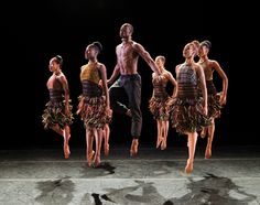 Alvin Ailey American Dance Theater in LIFT (photo by Paul Kolnik, courtesy AAADT)