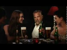 Who is the most attractive man in the world? Dos equis finds a way to appeal to any man's inner ego.