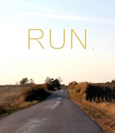 This is kinda what my fall runs (and even my winter runs so far) look like <3