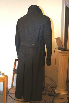 Sherlock Coat - scroll down for lining