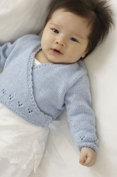 Our knitting editor talks knitting baby clothes and the best baby cardigan knitting patterns.