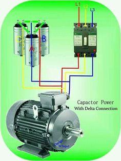 me ~ Delta Power Factor Correction. Electrical Engineering Books, Home Electrical Wiring, Electrical Layout, Electrical Plan, Electrical Projects, Electrical Installation, Electronic Engineering, Audio Installation, Electronics Mini Projects