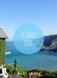 The seaside village of St Agnes, Cornwall