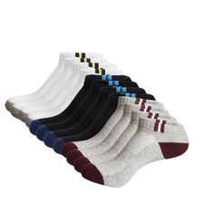 9-12.5 NWT 3 Pair UNDER ARMOUR ArmourDry Mens Crew Socks Assorted Colors-L