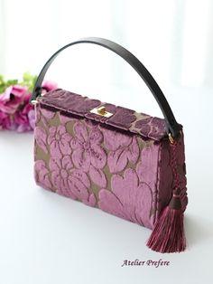 Petite Jolie lila Schleife Flip Flops, Violett violett