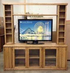 Custom Tv Stand Entertainment Furniture Center Kitchen Cabinet Design Designs
