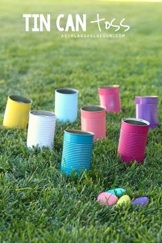 5 fun things to do with tin cans!!!