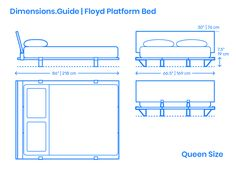 Minimalist Bedroom, Minimalist Design, Bed Furniture, Furniture Design, Spanish Interior, Vintage House Plans, Interior Design Sketches, Glass Side Tables, Bed Dimensions