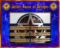 Rush Custom Drumstick wall Display