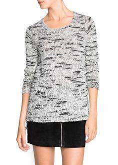 $79.99 awesome Mango Women's Chunky Knit Wool-Blend Sweater