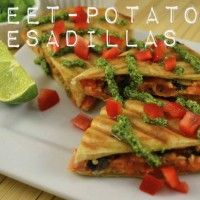 Sweet-Potato Quesadillas