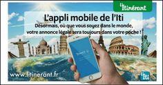 Première application en France pour passer une annonce légale