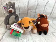 Disney Mini Bean Bags Lot Pumbaa Kiara Baloo Collectibles Gift | Collectibles, Disneyana, Contemporary (1968-Now) | eBay!