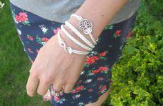 Infinity Wishing Tree Bracelet 50% off at Groopdealz
