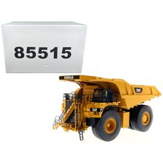 CAT Caterpillar 795F AC Electric Drive Mining Truck with Operator High Line Series 1-50 Diecast Model by Diecast Masters