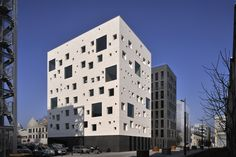 Completed in 2011 in Nantes, France. Images by Patrick Miara. Following the guidelines and recommendations fixed in the general specifications of the ZAC (Urban development zone) established by the Chemetov...