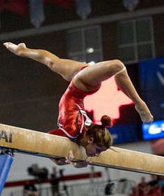 gymnastics, gymnast, balance beam