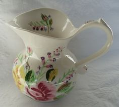 Blue Ridge China Sally Pitcher....