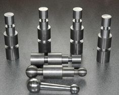 Ball Handles in Various Stages of Product