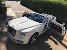 Drop top Rolls Royce Dawn cleaned and protected by for this Rolls Royce Phantom, Rolls Royce Wraith, Rolls Roys, Convertible, Best Cars For Teens, New Luxury Cars, Luxury Auto, Rolls Royce Dawn, Royce Car