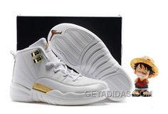 http://www.getadidas.com/2017-kids-air-jordan-12-all-white-gold-top-deals-nxj5wfz.html 2017 KIDS AIR JORDAN 12 ALL WHITE GOLD TOP DEALS NXJ5WFZ Only $78.00 , Free Shipping!