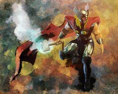 The Mighty Thor by Daniel Scott Gabriel Murray