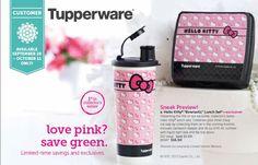 Tupperware Hello Kitty