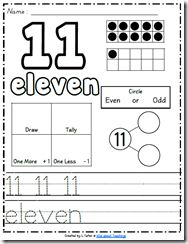 Oh. My. Heavens. Best freebie ever! Handwriting sheets for the numbers 1-100. I heart you, Wild About Teaching!