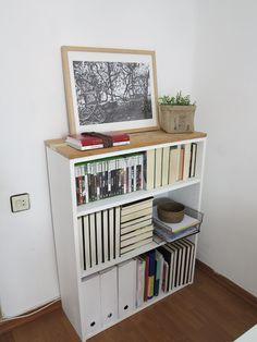 Un DIY para customizar una vieja estantería | Decorar tu casa es facilisimo.com